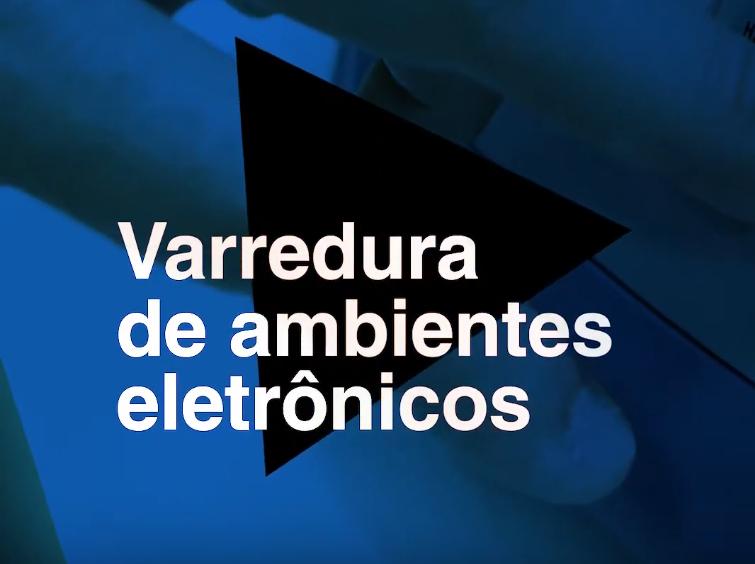 Varredura eletrônica de ambientes