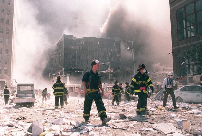 Como os ataques de 11 de setembro de 2001 impactaram a tecnologia