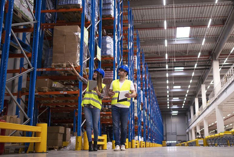 Segurança exponencial na logística: ganhos reais na esteira de produção